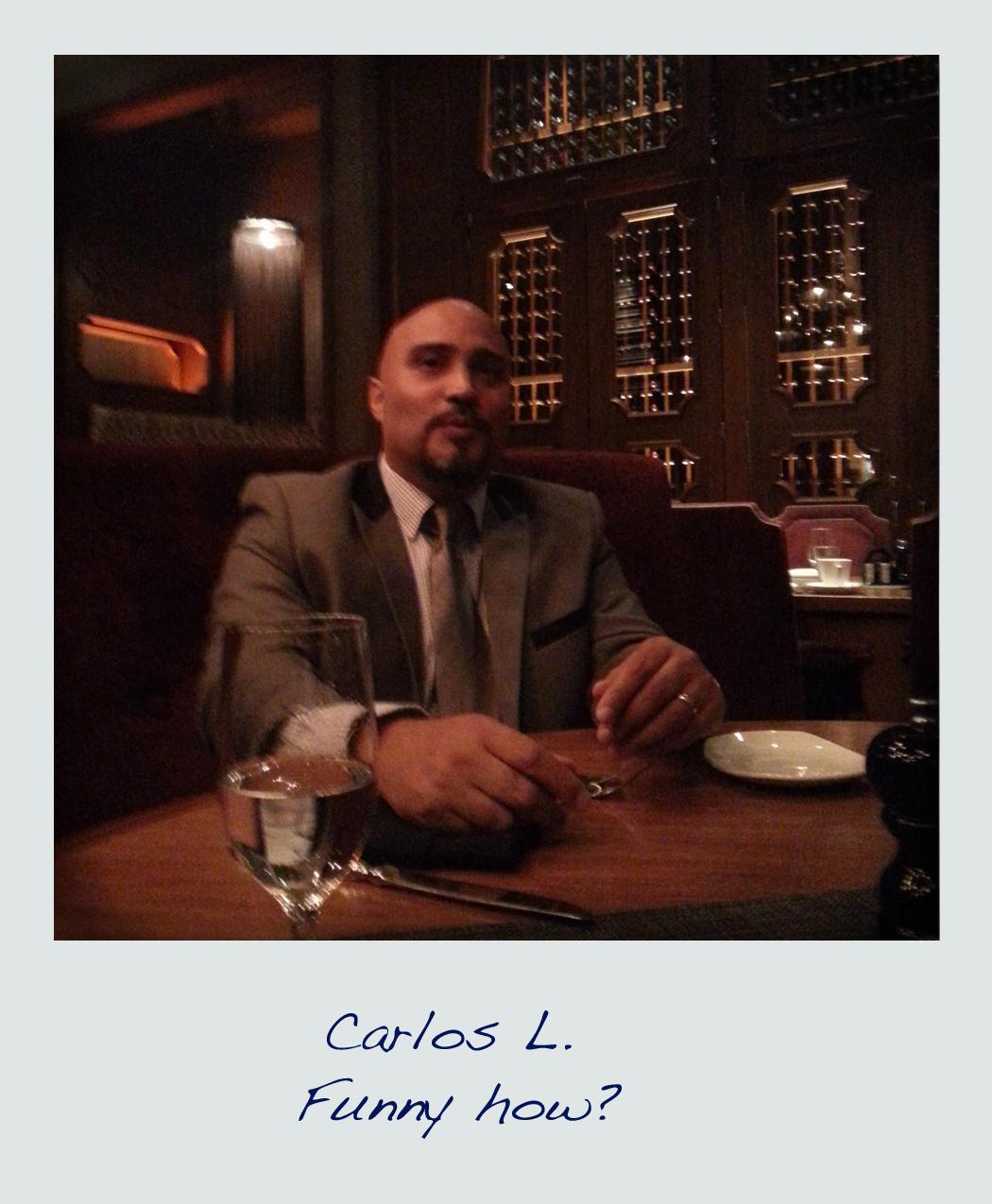 Polaroid Carlos Lopez