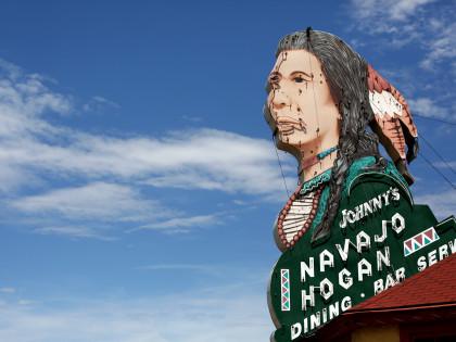Johnny's Navajo Hogan